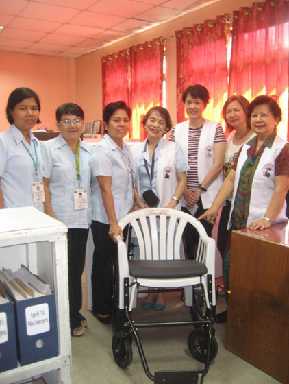 Wheelchair Donation to RMC 004