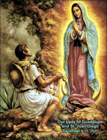 2a)  Our Lady of Guadalupe feast day