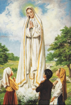 5)  Our Lady of Fatima