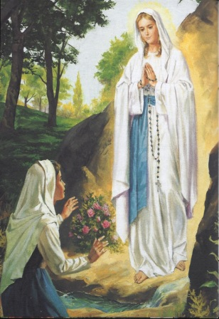 8)  Our Lady of Lourdes