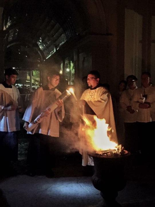 Easter Vigil Blessing of Fire